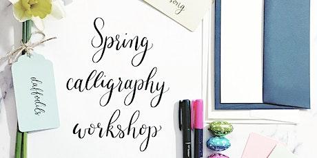 Spring Calligraphy Workshop tickets