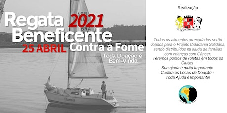 Regata Beneficente Contra a Fome 2021 ingressos