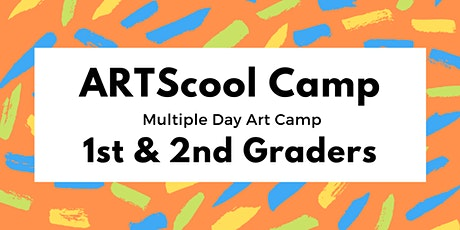 ARTScool Multi-day Art Camp for 1st & 2nd Graders tickets