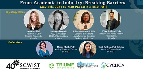 From Academia to Industry: Breaking Barriers - Miniseries finale tickets