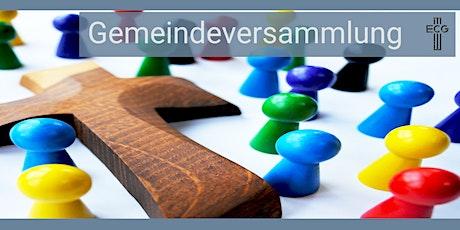 Gemeindeversammlung ECGH Tickets