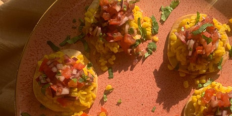 Indian Street Food: Dal Pakwan and Papdi Chaat - Raising funds for Yemen tickets