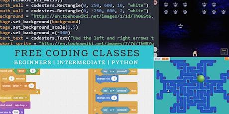 Connectech Coding FREE Mini Coding Classes - Beginners & Python biglietti