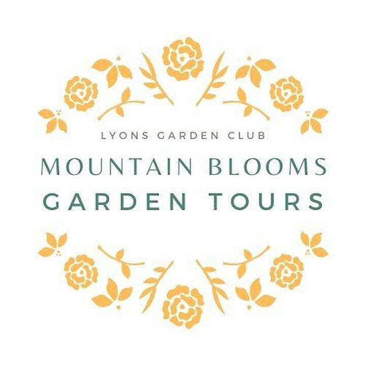 Mountain Blooms Garden Tours image