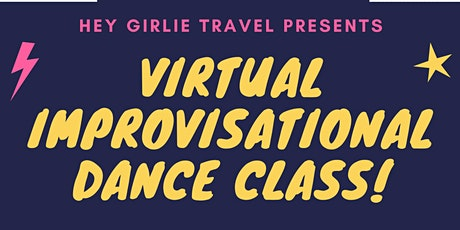 Virtual Improvisational Dance Class tickets