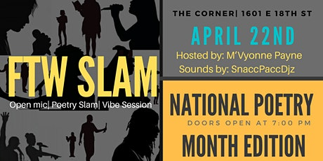 FTW Poetry Slam tickets