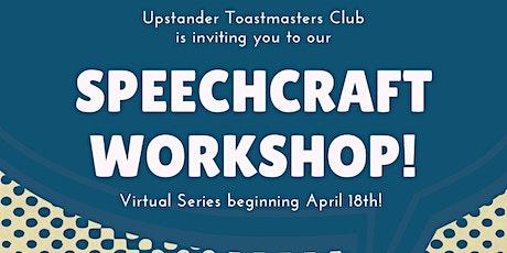 Speechcraft Workshop 2021 Series tickets
