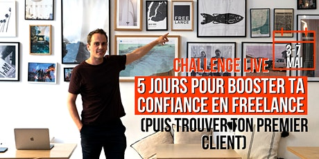 Challenge : 5 jours pour booster ta confiance en Freelance [Montréal] billets