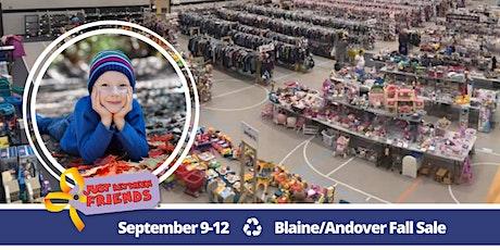 JBF Blaine/Andover Fall Sale | Sept 9-12 tickets