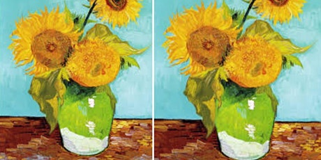 The Sunflowers of Van Gogh's Paint and Sip tickets