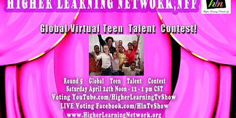 Global Virtual Teen Talent Contest - Round 5 tickets