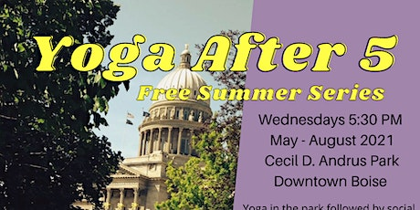 Yoga After 5 - Free Summer Series tickets