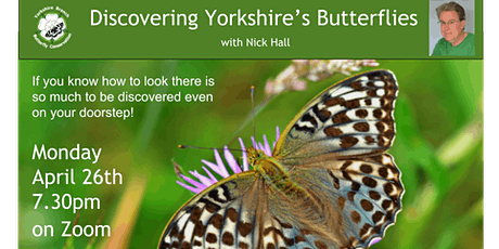 Discovering Yorkshire's Butterflies tickets
