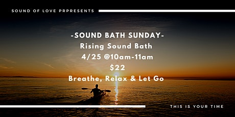 Rising Sound  Bath tickets