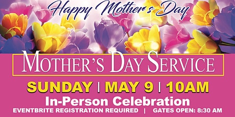 Mother's Day Service tickets