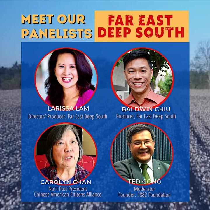 "C.A.C.A. Presents  ""Far East Deep South"" Film Discussion image"