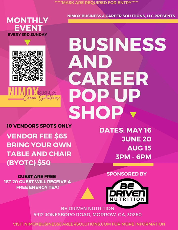 Business and Career (Monthly) Pop Up shop image
