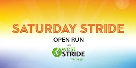 Saturday Stride tickets
