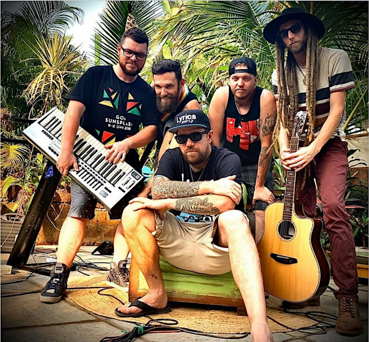 Jah Sun & The Rising Tide w/Mighty Mystic image