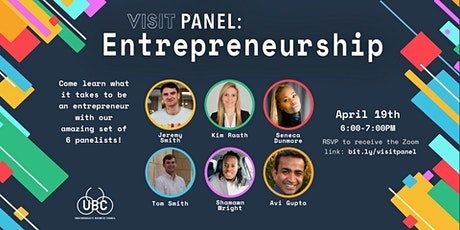 VISIT: Entrepreneurship Panel tickets
