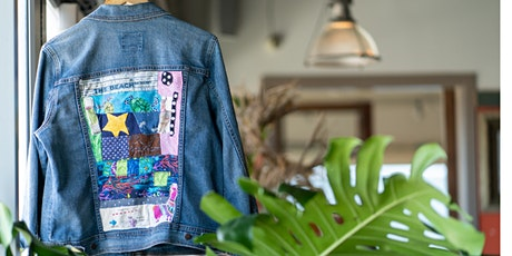 Fabric Collage Your Denim Jacket tickets