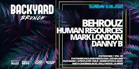 BACKYARD BRUNCH ft BEHROUZ tickets