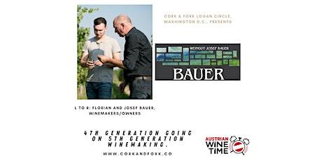 Austrian Wine Time Series: Josef Bauer, Wagram Tickets