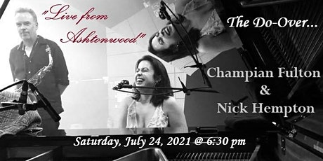 Live from Ashtonwood ~ Champian Fulton & Nick Hempton tickets