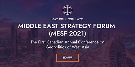 Middle East Strategy Forum 2021 tickets