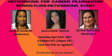 Networking For Career Filmmaker's Monthly Networking Event tickets