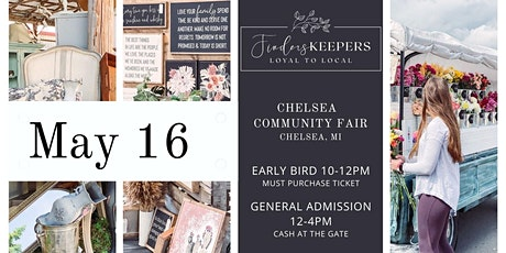 Finders Keepers Vintage Market in Chelsea, Michigan tickets