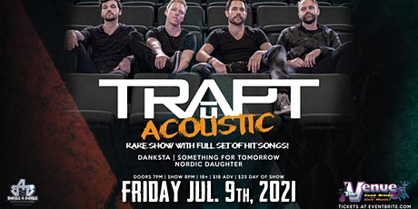 TRAPT (RARE ACOUSTIC SHOW) tickets