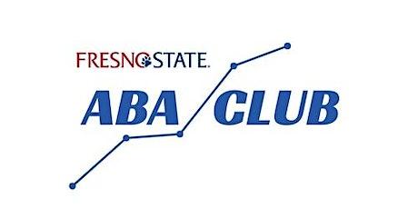 Fresno State ABA Club Speaker Series- April Speaker tickets