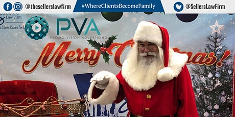 Free Photos with Santa Claus Presented by The Sellers Law Firm, LLC tickets