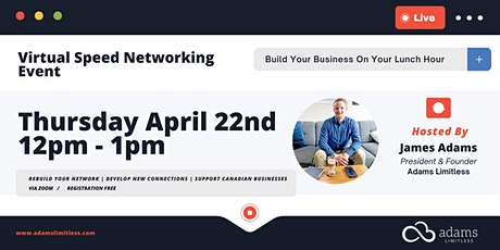 Virtual Lunch Hour Speed Networking Event tickets