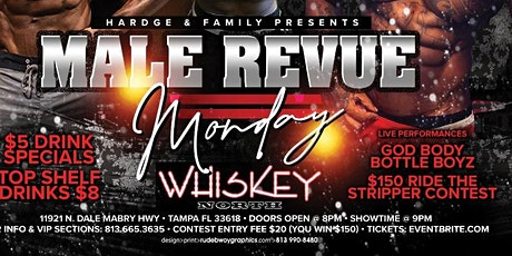 Male Review Mondays tickets