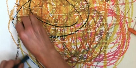 Art Therapy Group: Grounding, Rhythm & Bilateral Drawing (5-wk series) tickets