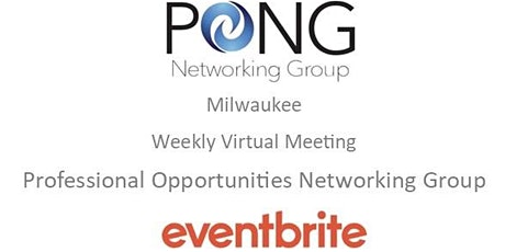 PONG MKE Meeting-VIRTUAL   21st CENTURY INTERVIEW PREPARATION   LEE ANDRESE tickets