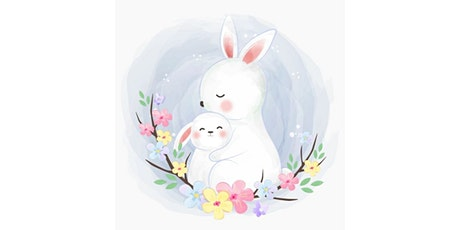 60min Mommy & Me Art Lesson: Bunny Family @4PM (Ages 5+) tickets