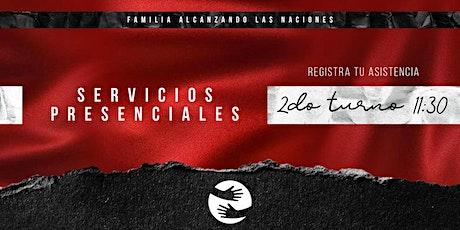 Reunión presencial Familia Alcanzando Las Naciones - 2do Turno (25-abril) boletos