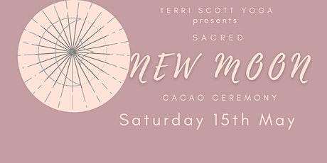 Sacred New Moon Cacao Ceremony tickets