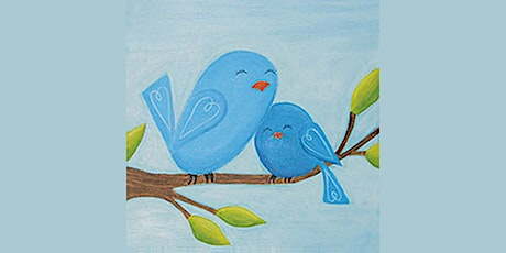 60min Mommy & Me Art Lesson: Bird Family @2PM (Ages 4+) tickets