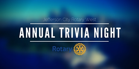 2021 Rotary West Annual Trivia Night tickets