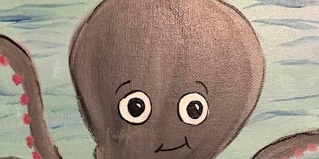 Virtual  Kids' Paint Class tickets