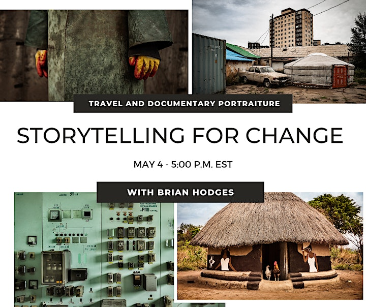 Storytelling for Change: Travel and Documentary Portraiture image
