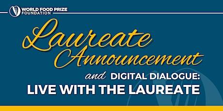 2021 World Food Prize Laureate Announcement + Digital Dialogue tickets