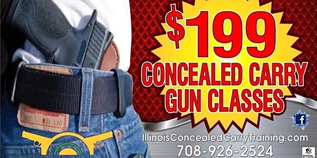 Saturday's & Sunday's-16 Hour Concealed Carry Class 9:30 A.M. to 6:00 P.M. tickets