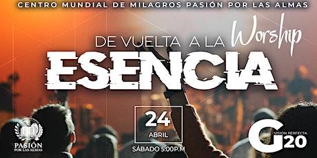 De vuelta a la Esencia, Sábado 5:00p.m  24/04/2021 entradas