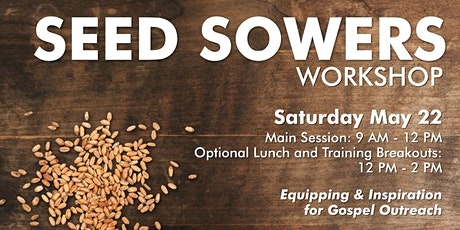Seed Sowers Workshop tickets