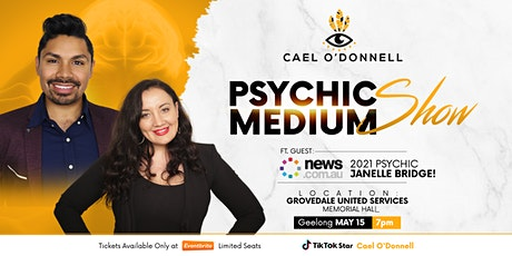 Psychic Medium Show ft. Cael O'Donnell & Janelle Bridge - Geelong tickets